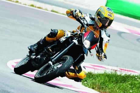 Virage moto