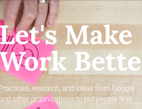 Google sur la performance d'équipe : les outils